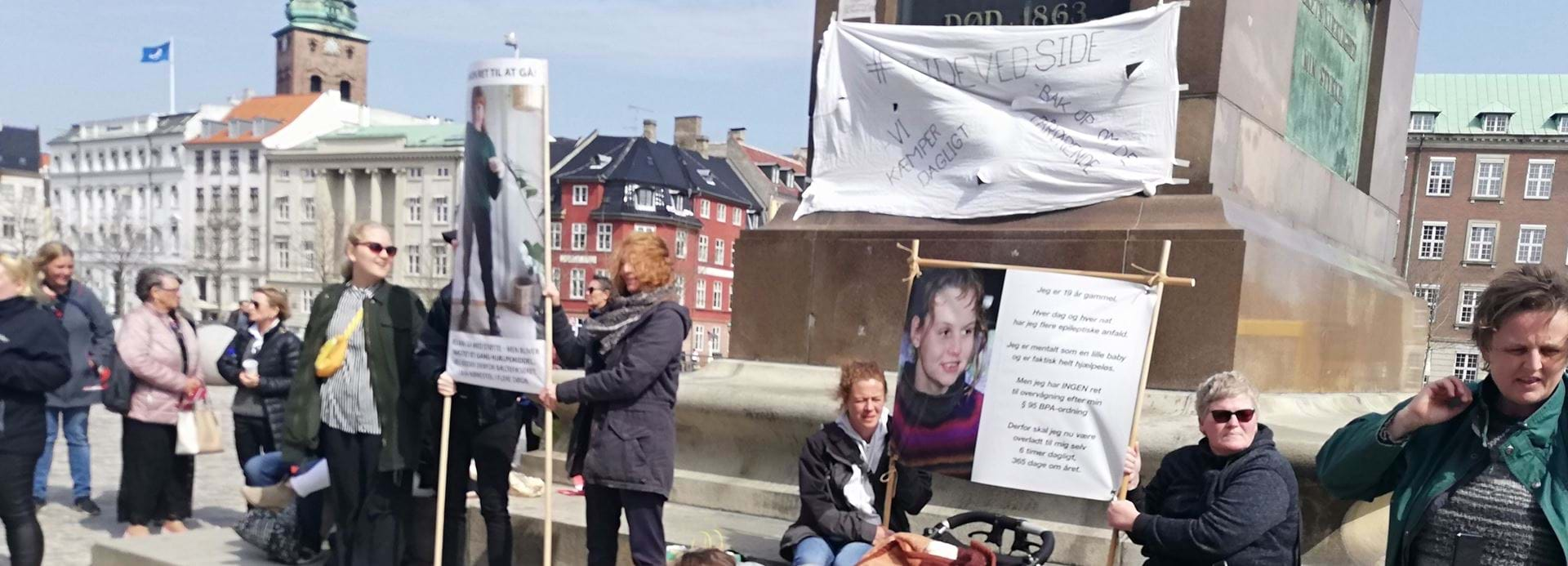 Demonstration Christiansborg 24.04.19